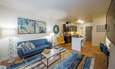 Living Room, The Cameron, 1