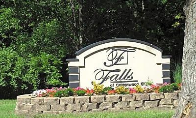 Community Signage, Falls At Cottonwood Creek, 0