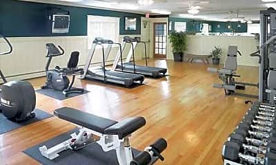 Fitness Weight Room, Parkview Apartments, 0