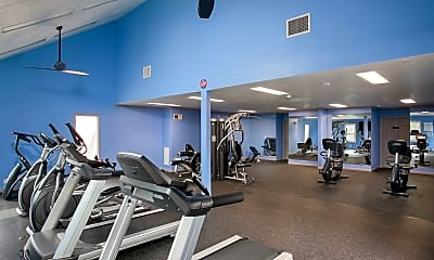Fitness Weight Room, Highland Pinetree Apartments, 2