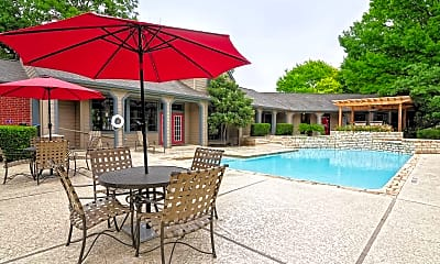 Pool, The Arbors of Wells Branch Apartments, 0