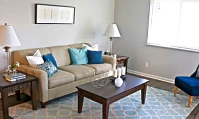 Living Room, The Flats at Martin City, 1