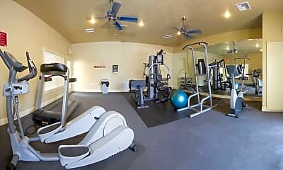 Fitness Weight Room, Cazabella Apartments, 2