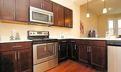 Kitchen, Trevarren Flats, 0