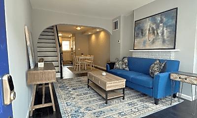 Living Room, 1165 Cleveland St, 0