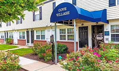 Community Signage, Cove Village Townhomes, 1