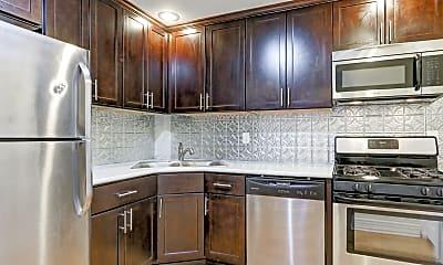 Kitchen, Wayne & Waldorf Apartments, 0