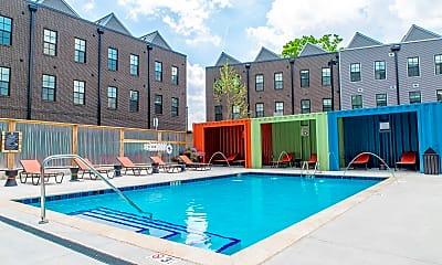 Pool, 431 W Rich St 223, 1