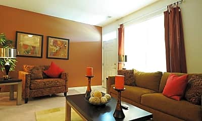 Living Room, HighPoint Apartments, 1