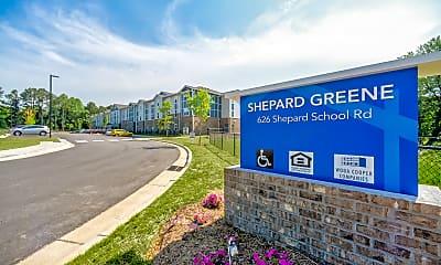 Community Signage, Shepard Greene Apartments, 2
