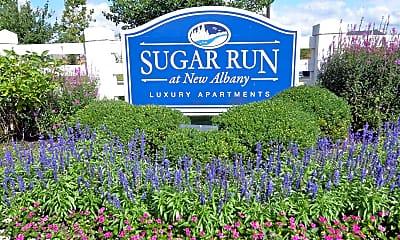 Community Signage, Sugar Run At New Albany, 2