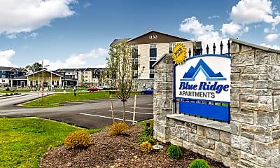 Community Signage, Blue Ridge Apartments, 2