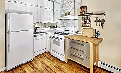 Kitchen, 407 2nd St 2R, 1