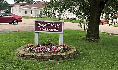 Campbell Court Apartments, 1