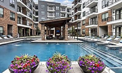 Pool, B & F Flats, 0