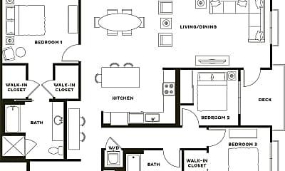 Living Room, 2901 E Kyne St, 2