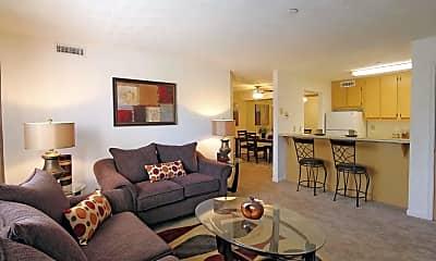 Living Room, Riverlands Apartments, 0