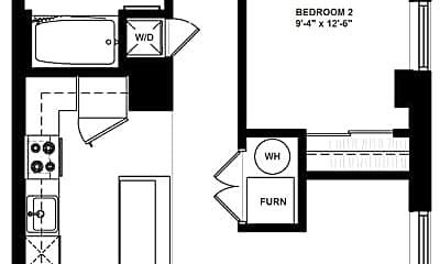Kitchen, 607 E 2nd Ave, 1
