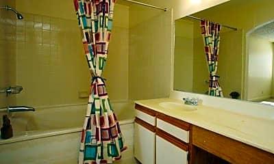 Bathroom, Ciel Apartments, 2