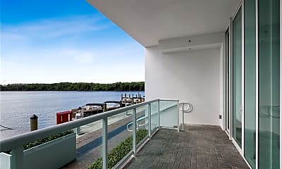 Patio / Deck, **Waterfront** 400 Sunny Isles Blvd, 0