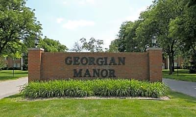 Community Signage, Georgian Manor, 2