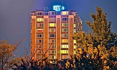 Community Signage, Key Towers Apartments, 0