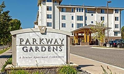 Community Signage, Parkway Gardens Senior Apartments 55+, 2