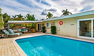 Pool, 3320 NE 18th Terrace, 1