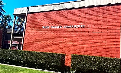 Wake Forest Apartments, 1