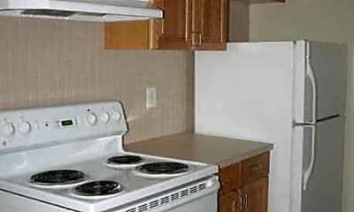 Kitchen, Amber's Broadacre Apartments, 0