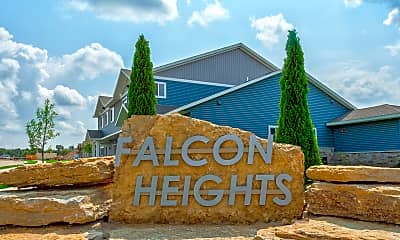 Building, Falcon Heights Townhomes, 2