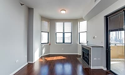 Living Room, 1464 S Michigan Ave, 1