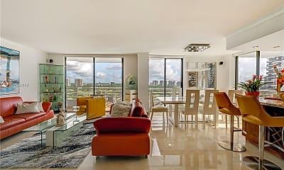 Living Room, 3300 NE 192 St 1612, 1