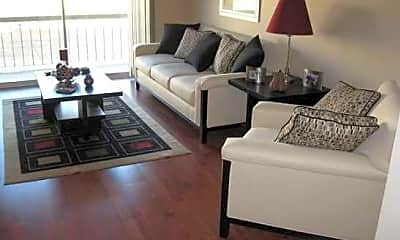 Living Room, Mansard House Apartments, 1