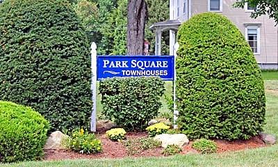 Community Signage, Park Square Townhouses, 2
