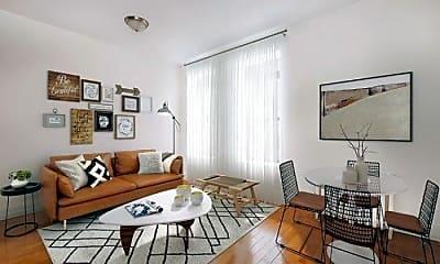 Living Room, 160 W 84th St, 1