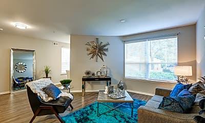 Living Room, Tuscany Bay Apartments, 1