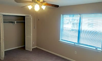 Bedroom, Country Club Apartments, 2