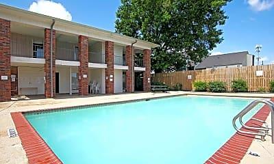 Pool, Oak Alley Apartments, 0