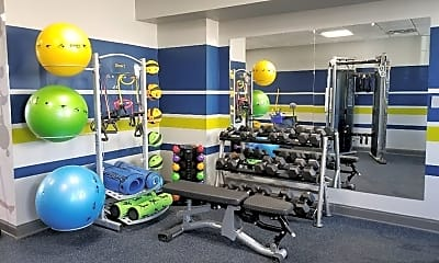 Fitness Weight Room, SoMa23, 2