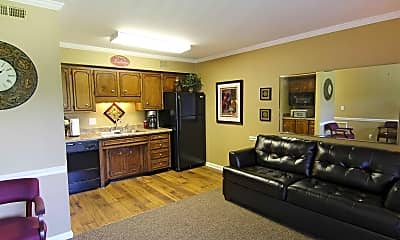 Living Room, Rivermont Apartments, 0