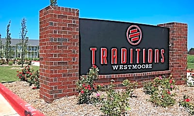 Community Signage, Traditions at Westmoore Apartments, 2