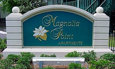 Community Signage, Magnolia Point Apartments, 1