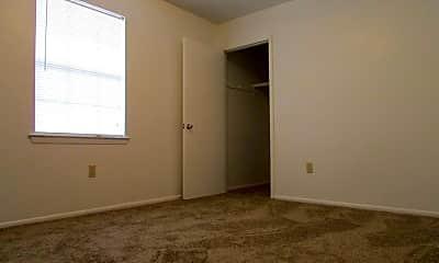 Bedroom, Jeff Davis Apartments, 2