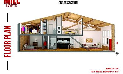 Living Room, 1156 N 3rd St, 2