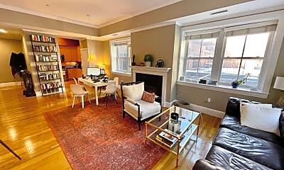 Living Room, 17 Worcester St, 1