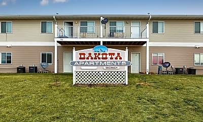 Community Signage, Dakota B Apartments, 2