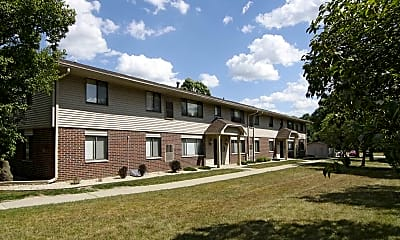 Building, Sunburst Apartments, 1