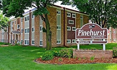 Community Signage, Pinehurst Apartments & Linden Street Apartments, 2