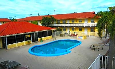 Pool, Mandalay Apartments, 2